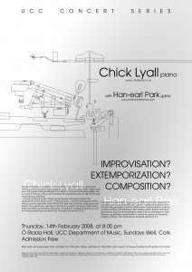Chick Lyall and Han-earl Park