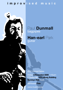 Paul Dunmall and Han-earl Park