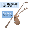 Paul Dunmall and Han-earl Park: Boolean Transforms (DLE-067) CD cover (copyright 2010, DUNS Limited Edition)