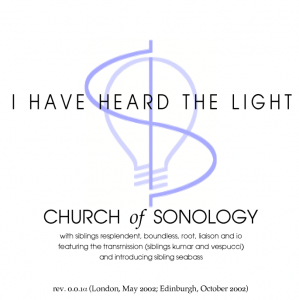'I Have Heard The Light' CD cover