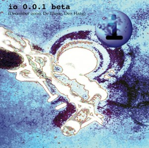io 0.0.1 beta CD cover