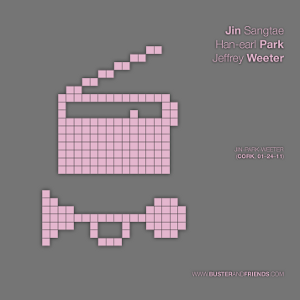 artwork for Jin Sangtae, Han-earl Park and Jeffrey Weeter: Jin-Park-Weeter (Cork, 01–24–11)