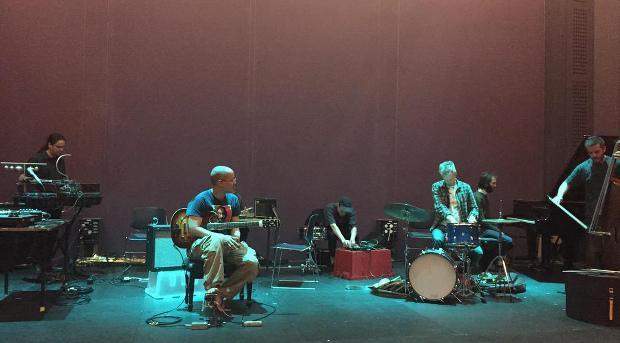 Just Improvisation: workshop performance (Belfast, May 30, 2015). Photo copyright 2015 Translating Improvisation.