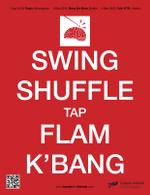 Swing Shuffle Tap Flam K'Bang (artwork copyright 2015 Han-earl Park). Click to download PDF.