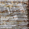 alt CD cover of 'Signal Gain' (ONR 023) with Josh Sinton and Dominic Lash (copyright 2015, Sinton and Lash)