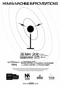 Human-Machine Improvisations (Cork, 2010) teaser poster