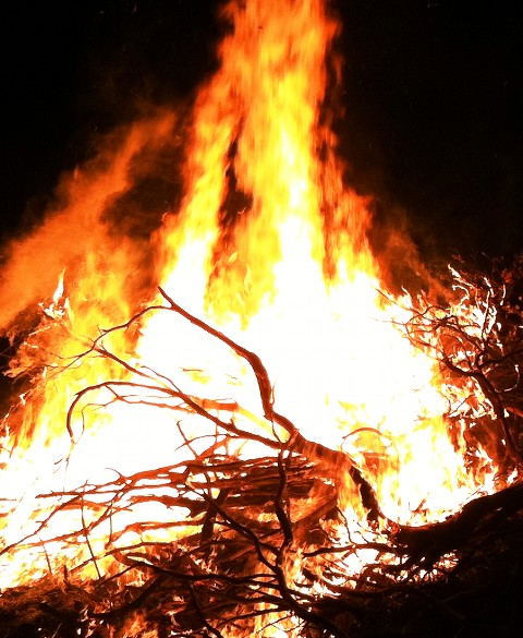 Amber and Murray's Bonfire (The Ridge) 11-10-11