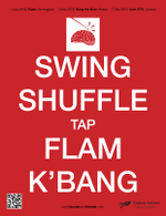 Swing Shuffle Tap Flam K'Bang (artwork copyright 2015 Han-earl Park). Click to download PDF.